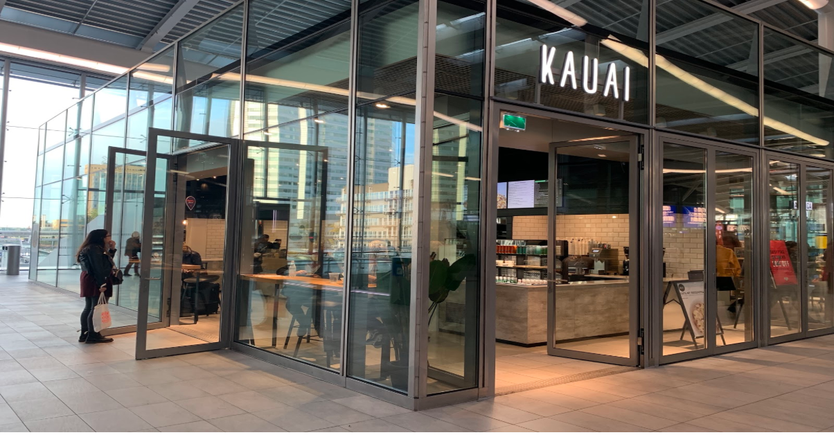 Looking for something healthy on Utrecht Centraal? KAUAI is the best place to go for good food!